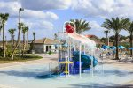 A splash park perfect for the kiddos