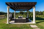 Relax with loved ones on comfortable outdoor furniture