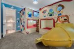Play big in this fun room where you can become one of the toys