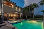A beautiful oversized pool deck to enjoy the Florida area