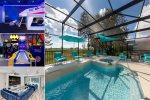 Ultimate Villa | Huge South Facing Pool, Movie Room, Arcade Games, Amazing Kids Bedrooms and Secret Playroom