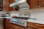 Make a delicious meal in the fully equipped kitchen