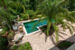 You`ll love the tropical tranquility of the pool deck