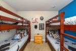 Two Twin Bunk Beds