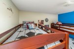 Kids will love to stay in this fun custom room