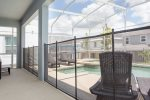 A pool safety fence ensures a worry-free vacation