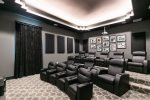 Grab some popcorn and watch a movie in your own private movie theater