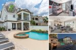 This luxurious 7 bedroom home features all of the amenities you can dream of for your Orlando vacation