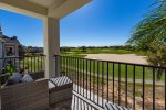Enjoy views from the patio, 2nd and 3rd floor balconies of the golf course and Reunion Grande