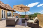 Pool deck overlooking gorgeous Reunion views
