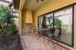 Relax under the covered lanai