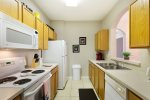 Fully equipped kitchen to cook family meals