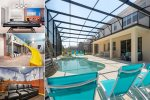Solterra Paradise Villa | Extended Pool Deck, Movie Room, Amazing Kids Bedrooms & Gym