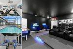 Brand New Home in Storey Lake   Elegant 9 Bed Pool Home in Storey Lake