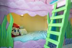 Little details help immerse children into the room