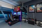 Challenge friends and family to a variety of arcade games