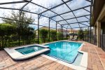 Enjoy the privacy of your own screened-in pool