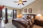 A Master bedroom perfect for the family vacation