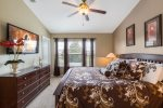 Large King bed in the Master Suite