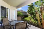 Large lanai, with a dinning table, seating for 6 plus sun-loungers.