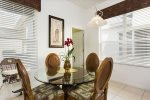 Casual dining area and breakfast nook