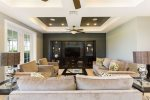 Luxury living space for your family to spend time in