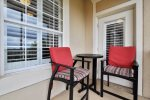 Condo located on 4th floor overlooking Windsor Hills tennis courts