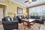 Unwind in the luxury casual living area