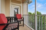 Enjoy Florida sun and sunsets overlooking the putting green, BBQ area, tennis, basketball and volleyball courts