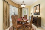Kitchen nook dining area seats four