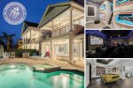 Luxury Reunion Villa | Movie Room, 50k arcades, Purpose Built Beds, Car Pool Table, Fire Pit & Golf Views
