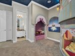 Enter this magical galaxy custom themed bedroom designed just kids