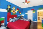 Kids will love this fun bedroom that`s designed just for them