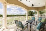 Spacious balcony that both Master bedrooms have direct access to