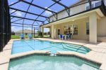 With a West facing pool and enjoy Florida sunshine all day