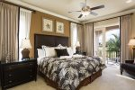 This master suite has everything you need