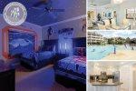 Sandy Ridge Luxury | 3 Bed Condo, Luxurious Furnishings, Only Steps to Splash Park & Pool, Kids Bedroom