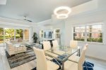 Luxurious furnishings are found throughout this newly refurbished condo