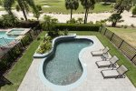 Overlook the Pool from your own Private Balcony
