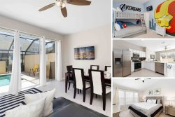 Windsor Villa | Townhome with South Facing Private Pool and Kids Bedroom