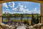 Amazing golf course and pond views from your private suite