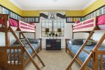 The kids will love their Route 66 themed room