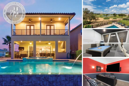 7 - 15 Bed Pool Homes | Vacation Homes | Magical Vacation Homes