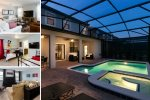 Luxury Retreat | 6 Bed Villa featuring Screened Pool, Spillover Spa, Kids Room, Theater Room with Xbox One & 70-inch TV