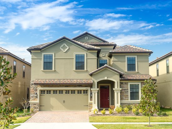 find 8 bedroom homes for rent near disney park in orlando