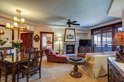 Remodeled in Extreme Luxury, 2-Bedroom Slope-Side Crystal Peak Lodge Ski-In Ski-Out Condo