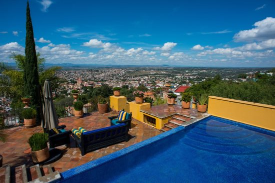 Pool and Views of San Miguel