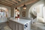 Gourmet kitchen luxe finish