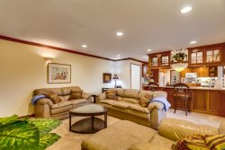 Open floor plan offers plenty of space for any large family