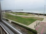 View of the Ocean with Crystal Pier and the Boardwalk from the Livingroom
